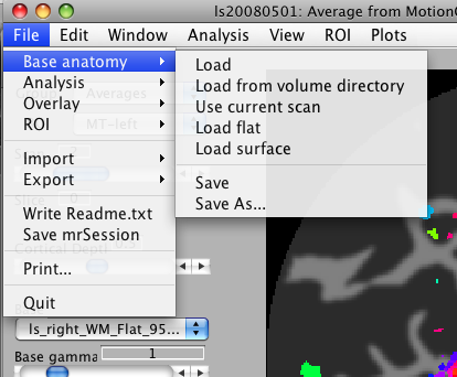 File Menu (Matlab on Mac OSX)